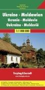 Ukraine - Moldavia Road Map: Touristische Informationen. Citypläne. Ortsregister mit Postleitzahlen (Road Maps)