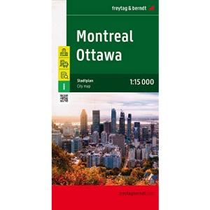 Ottawa - Montreal 1 : 15 000: Touristische Informationen / Straßenverzeichnis / Öffentliche Verkehrsmittel