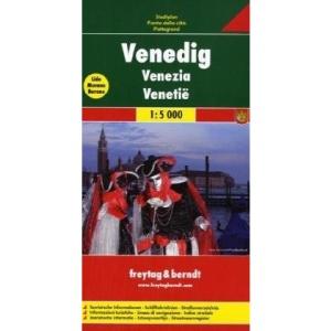 Venice f&b (r): Touristische Informationen. Schiffahrtslinien. Straßenverzeichnis