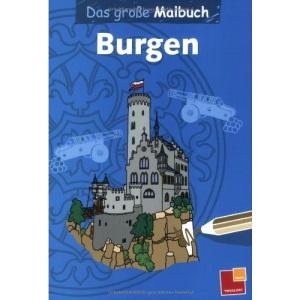 Das große Malbuch - Burgen