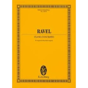 Maurice Ravel: Piano Concerto G Major/G-Dur/Sol Majeur (Edition Eulenburg)