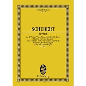 Octet D. 803 F Maj (Edition Eulenburg)