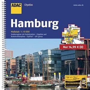 ADAC CityAtlas Hamburg 1 : 15 000.