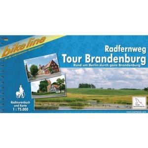 Brandenburg Tour Radfernweg Rund Berlin Durch Ganz Brandenburg: BIKE.070: Rund um Berlin durch ganz Brandenburg. Ein original bikeline-Radtourenbuch