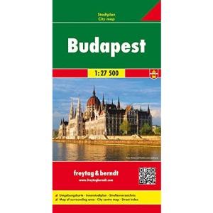 Budapest: Stadskaart 1:27 500
