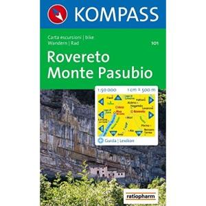 Rovereto 101 kompass D/I Monte Pasubio: Wandelkaart 1:50 000