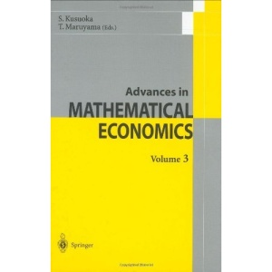 Advances in Mathematical Economics 3: v. 3