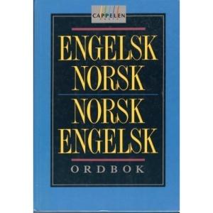 Cappelens English-Norwegian and Norwegian-English Dictionary