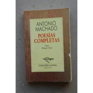 Poesias Completas: Poesias Completas (Incl. Campos De Castilla)