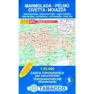 Marmolada - Pelmo 015 GPS Civetta - Moiazza