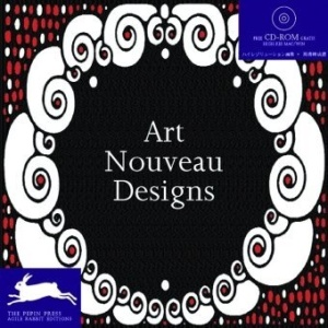 Art Nouveau Designs (Pepin Patterns, Designs and Graphic Themes)