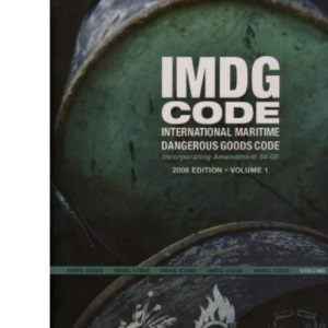 IMDG code: international maritime dangerous goods code, incorporating amendment 34-08
