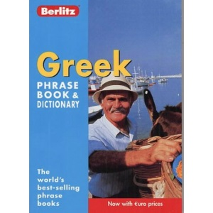 Greek Berlitz Phrase Book and Dictionary (Berlitz Phrasebooks)