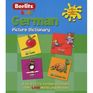 German Berlitz Kids Picture Dictionary (Berlitz Kids Picture Dictionaries)