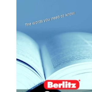 German Vocabulary Berlitz Handbook (Berlitz Handbooks)