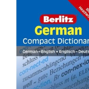 German Berlitz Compact Dictionary (Berlitz Compact Dictionaries)