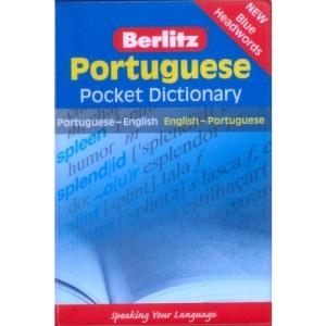 Portuguese Berlitz Pocket Dictionary: Portuguese-English : English-Portuguese