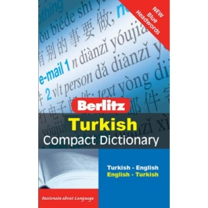 Berlitz Language: Turkish Compact Dictionary (Berlitz Compact Dictionary)