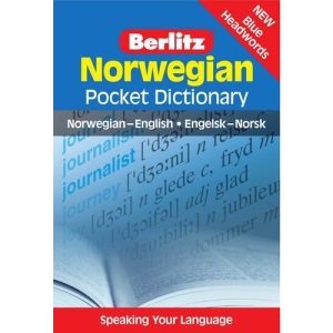 Norwegian Berlitz Pocket Dictionary (Berlitz Pocket Dictionaries): Norwegian-English = Engelsk-Norsk