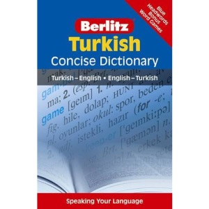 Turkish Berlitz Concise Dictionary (Berlitz Concise Dictionaries): Turkish-English, English-Turkish
