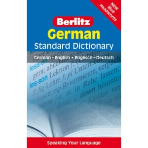 German Berlitz Standard Dictionary