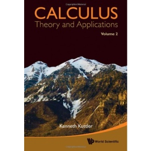 Calculus: Theory And Applications, Volume 2