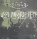 WHEN LOVE AND HATE COLLIDE CD UK MERCURY 1995