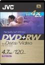 JVC Rewritable Dvd+Rw(2 Hours)Sin