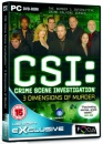 CSI: 3 Dimensions of Murder (PC DVD)