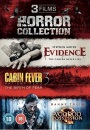 3 Film Horror Collection (Evidence / Cabin Fever / A Voodoo Possession) [DVD]