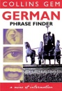 Collins Gem - German Phrase Finder (Collins Gems)
