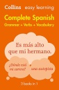 Easy Learning Spanish Complete Grammar, Verbs and Vocabulary (3 books in 1): Trusted support for learning (Collins Easy Learning Spanish)