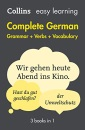 Easy Learning German Complete Grammar, Verbs and Vocabulary (3 books in 1): Trusted support for learning (Collins Easy Learning German)