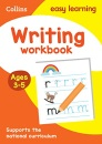 Writing Workbook Ages 3-5: Prepare for Preschool with easy home learning (Collins Easy Learning Preschool)