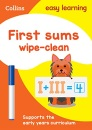 First Sums Age 3-5 Wipe Clean Activity Book: Ideal for home learning (Collins Easy Learning Preschool)
