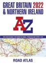 Great Britain A-Z Road Atlas 2022 (A3 Paperback)