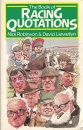 The Book of Racing Quotations