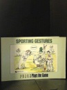 Sporting Gestures: Punch Plays the Game (Punch Cartoons)