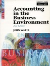 Accounting in the Business Environment