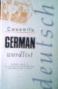 Cassell's German Wordlist