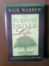Purpose-driven Life: What on Earth am I Here For?