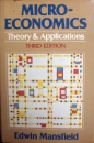 Mansfield Microeconomics Theory and Applications