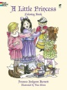 A Little Princess Coloring Book: The Story of Sara Crewe: Colouring Book (Dover Coloring Books)