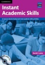 Instant Academic Skills with Audio CD: A Resource Book of Advanced-level Academic Skills Activities (Cambridge Copy Collection) - Sarah Lane