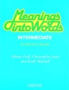 Meanings into Words Intermediate Student's book: An Integrated Course for Students of English