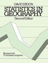 Statistics in Geography: A Practical Approach