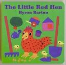 The Little Red Hen Board Book - Byron Barton