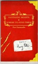 Comic Relief: Fantastic Beasts and Where to Find Them (Harry Potter's Schoolbooks)