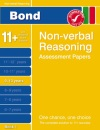 Bond Assessment Papers Third Papers in Non-verbal reasoning 9-10 years New Edition