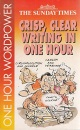 Crisp, Clear Writing in an Hour (One Hour Wordpower)